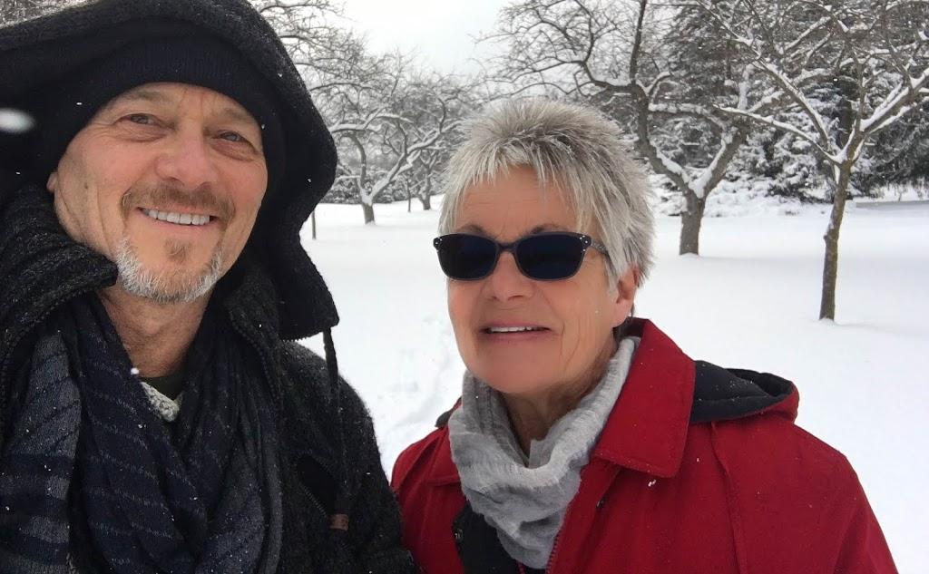 Snowshoeing Niagara Botanical Gardens